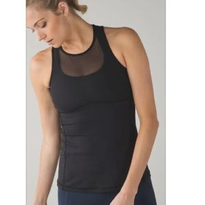Lululemon Ready, Set, Sweat mesh tank